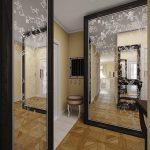 светлый дизайн проходной комнаты новинки фото