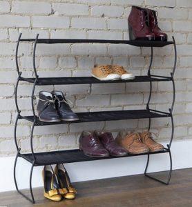 вращающая подставка для обуви в проходную комнату дизайн картинка