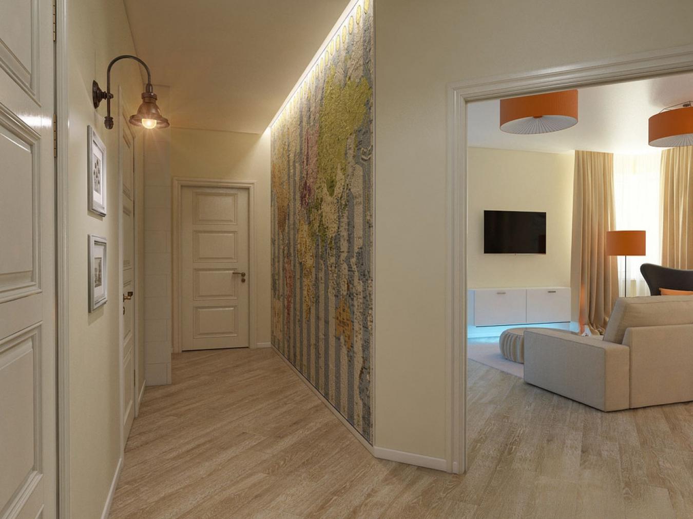 Дизайн длинного коридора, 96 фото ЭтотДом