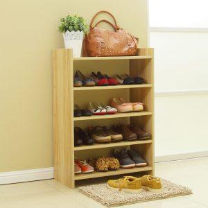 длинная металлическая обувница в проходную комнату фото