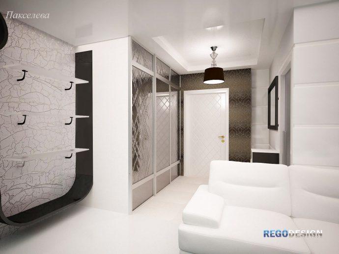 вместительный шкаф в прихожую стиль
