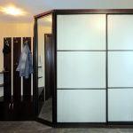 широкий шкаф в прихожую комнату стиль