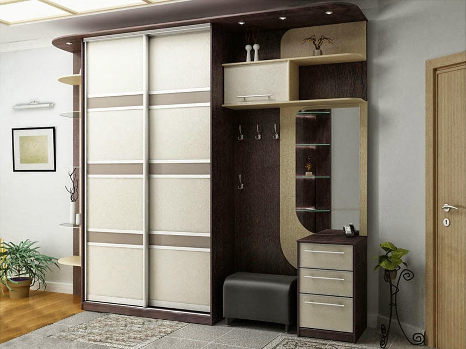 шкаф в прихожую из качественного дерева