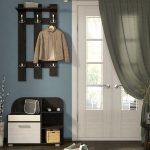шкаф в проходную комнату из качественного дерева фото