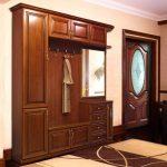 дизайнерская прихожая комната в классическом стиле интерьер фото