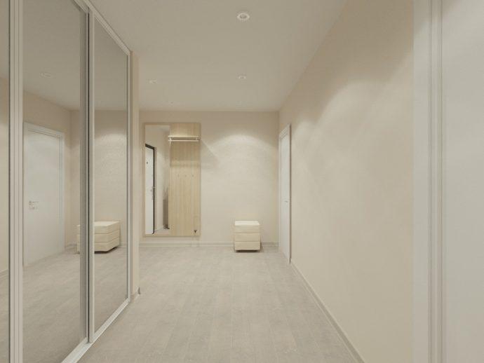 шикарная проходная комната в скандинавском стиле картинка