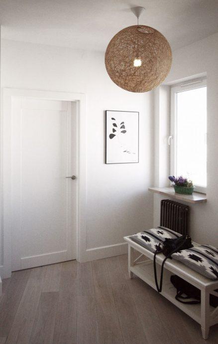 шикарная прихожая комната в скандинавском стиле картинка