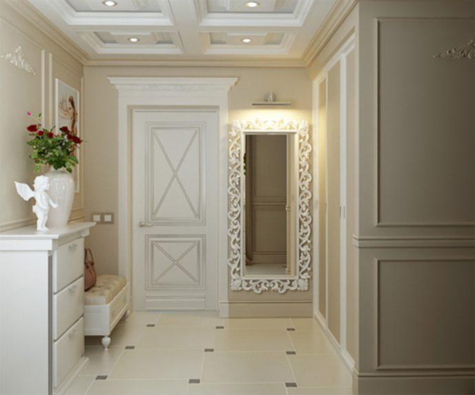 яркий стиль коридора эконом класса картинка