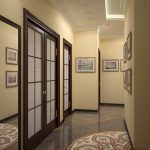 светлый стиль коридора картинка