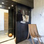 узкий интерьер проходной комнаты фото