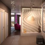 светлый стиль прихожей комнаты в новом стиле картинка