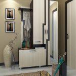 красивый дизайн проходной комнаты эконом класса фото