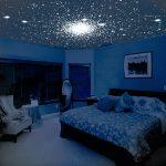 светлый потолок из пвх пленки в игровой картинка
