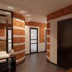 яркий дизайн проходной комнаты новинки картинка