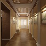 яркий стиль маленькой прихожей комнаты в новом стиле фото