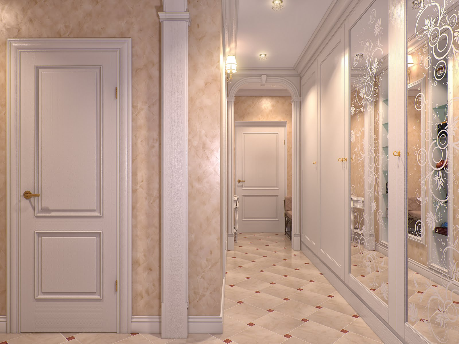 75 фото идей дизайна коридоров и прихожих в современной квартире