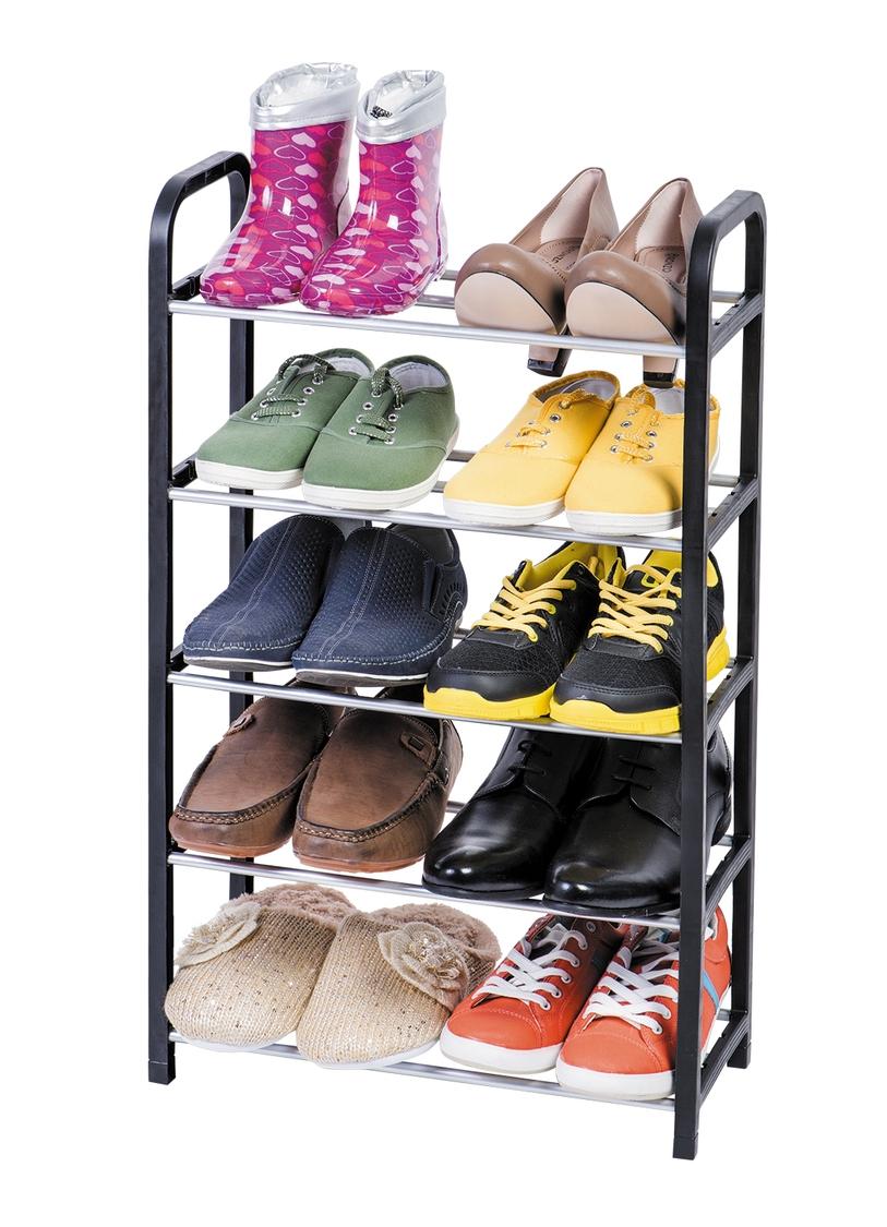 небольшая полка для обуви в прихожую комнату
