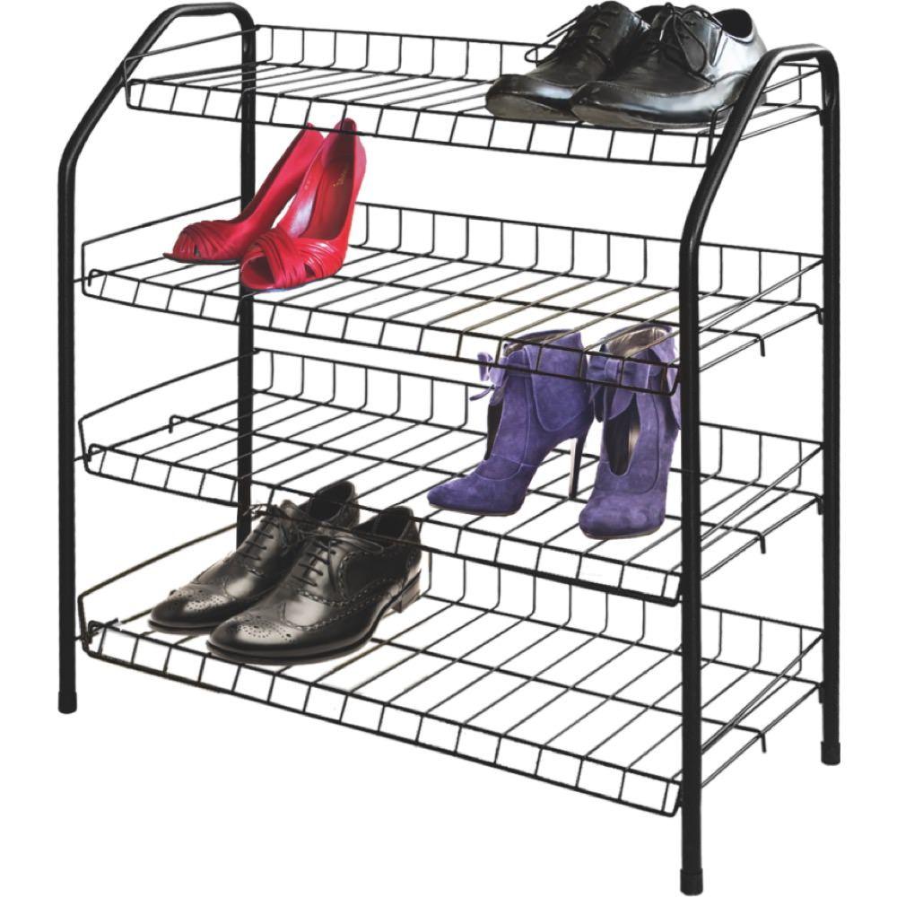 удобная этажерка для обуви в прихожую комнату