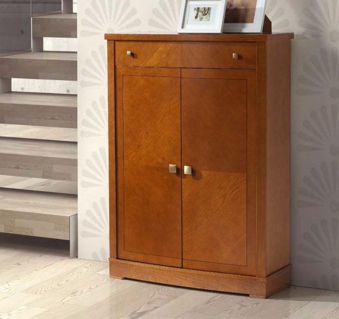 небольшая шкафчик для обуви из дсп в прихожую интерьер