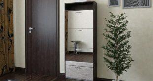 небольшая шкафчик для обуви из двп в коридор дизайн