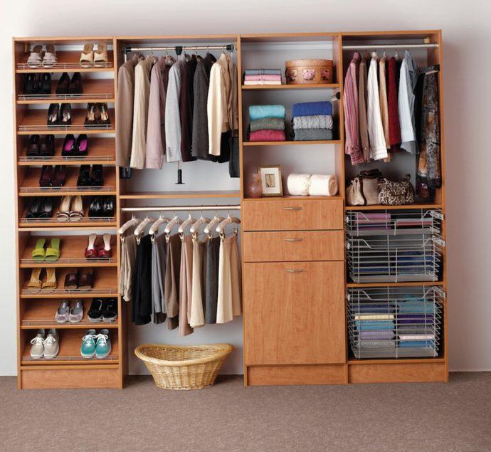 яркая шкафчик для обуви из дсп в прихожую интерьер