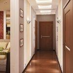 яркий стиль коридора фото
