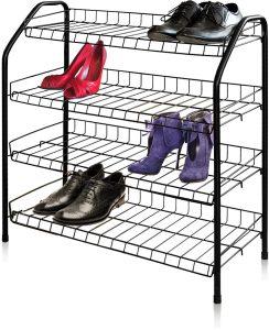 этажерка для обуви в прихожую дизайн фото