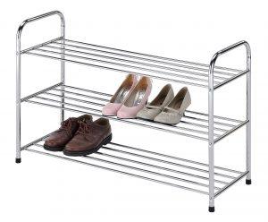 кованная подставка для обуви в проходную интерьер картинка
