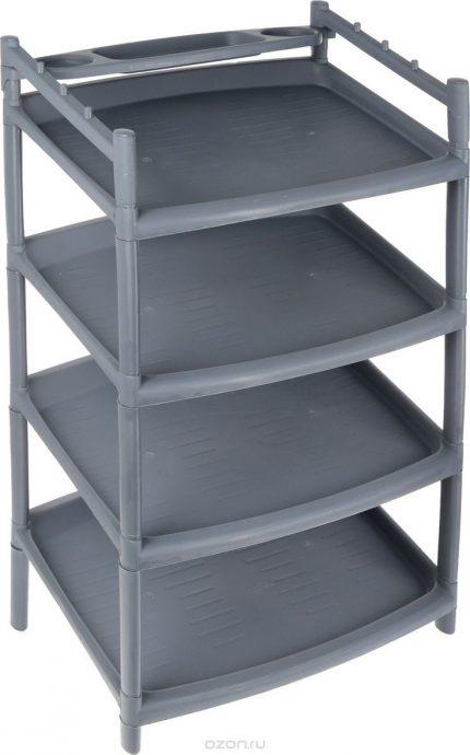 удобная этажерка для обуви в коридор картинка