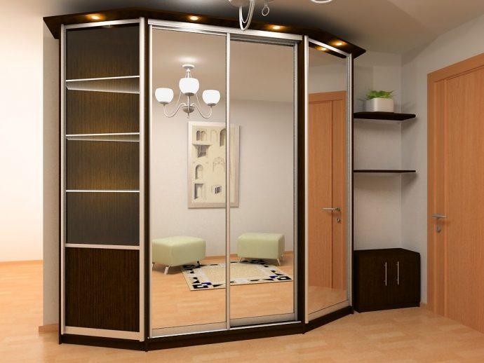 небольшой шкаф в прихожую комнату дизайн