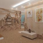 шикарная коридор в частном доме картинка