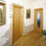 правильная отделка проходной комнаты пластик фото