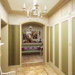 светлая прихожая комната в стиле прованс картинка