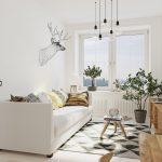 красивая коридор в скандинавском дизайне картинка