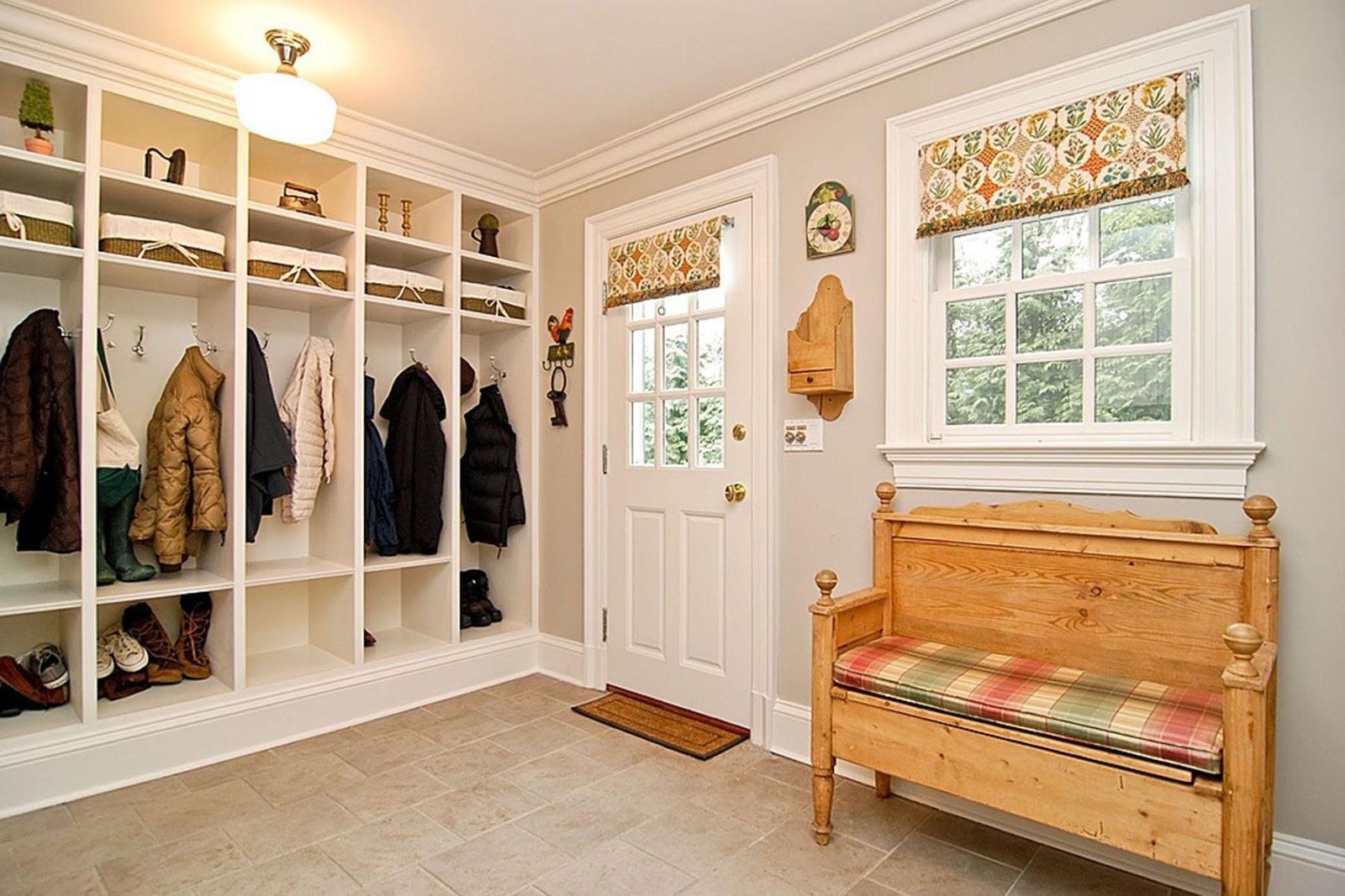 шикарная коридор в частном доме
