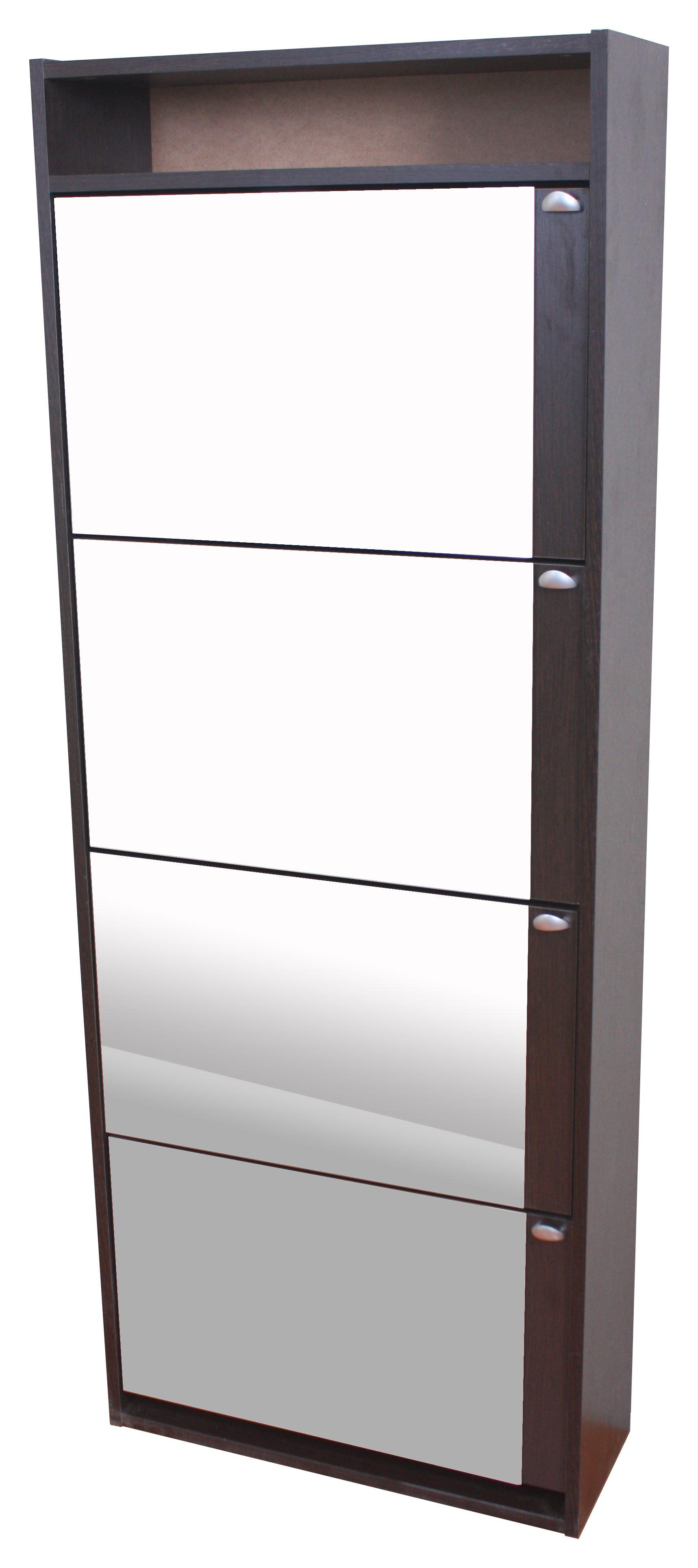 яркая шкафчик для обуви из мдф в прихожую комнату