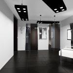 светлый стиль прихожей комнаты в современном стиле картинка