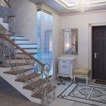 необычный стиль коридора эконом класса фото